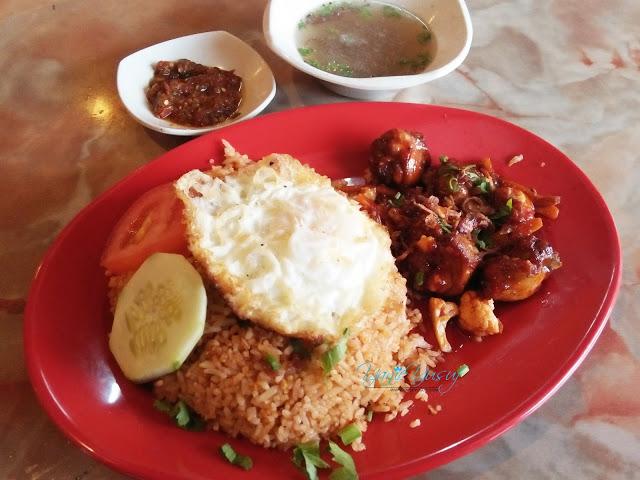 Restoran Ayam Kampung Tanjung Malim,NASI GORENG USA AYAM KAMPUNG RM 7.00