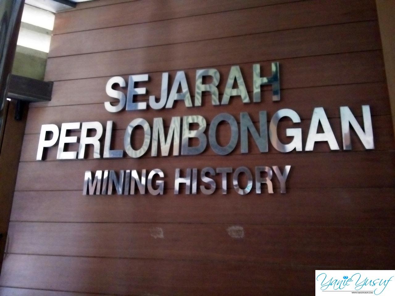 Sejarah Sungai Lembing Kuantan Pahang