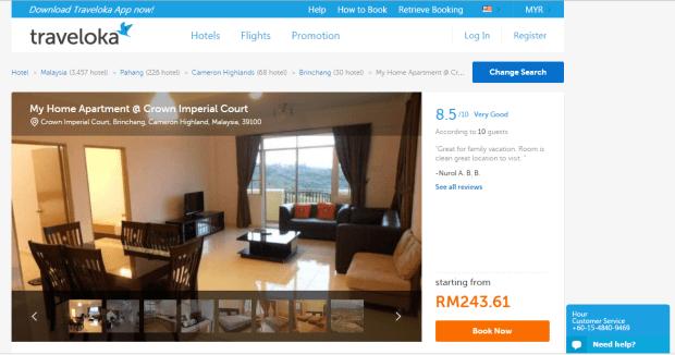 Tempat-tempat Menarik di Sekitar Cameron Highlands Hotel