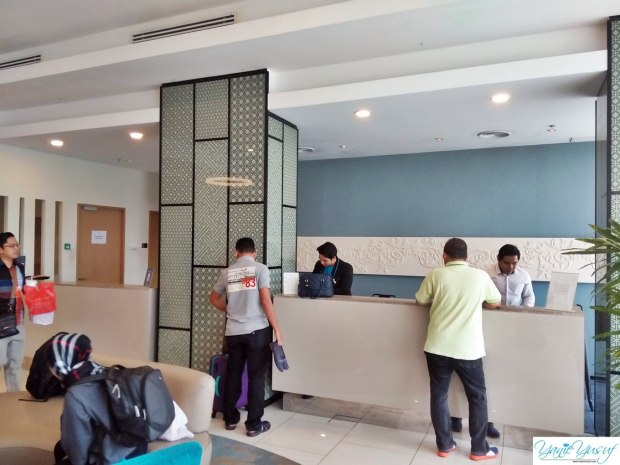 Ruang lobby Cyberjaya Citadines Dpulze Hotel Menjadi Pilihan Akhirnya