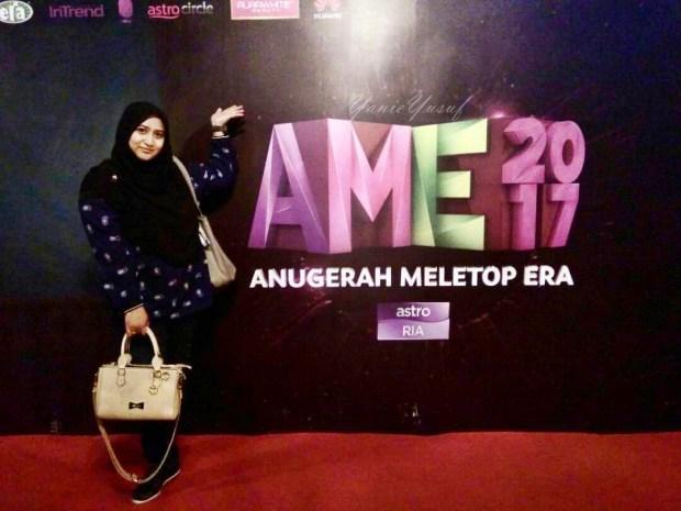 Anugerah Meletop Era 2017 Pengalaman Baru