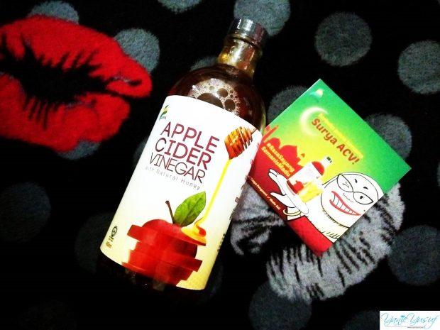 Surya Apple Cider Vinegar dengan Natural Honey