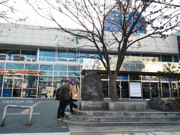 Winter Trip South Korea 2017 Sekitar Gupo Station Busan