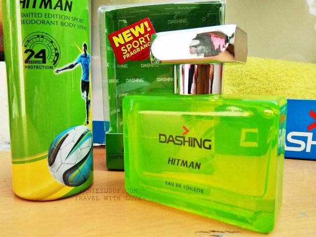 Deodoran Semburan Badan dan Eau De Toilette Hitman