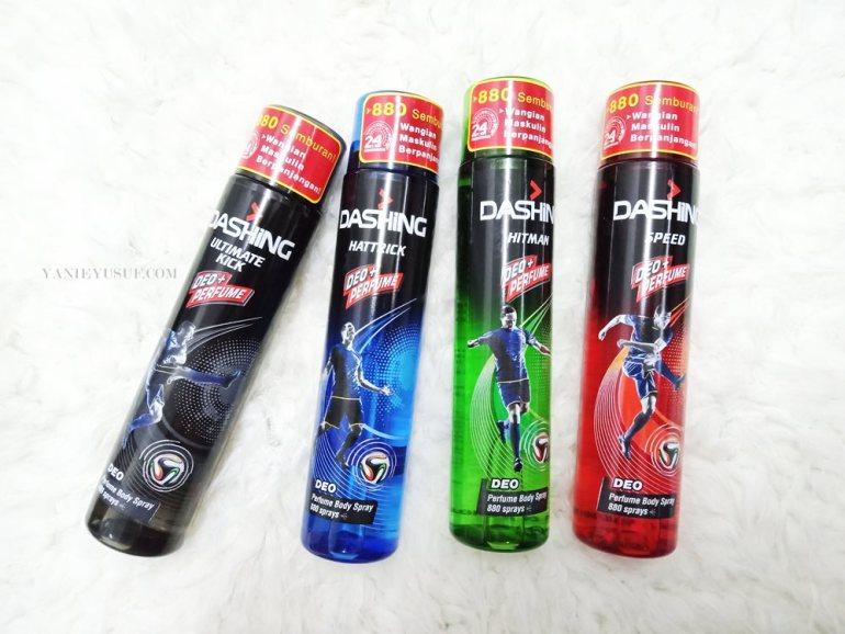 Semburan deodorant dan wangian badan untuk lelaki