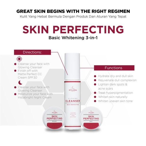 MYLARA Skincare Basic Whitening