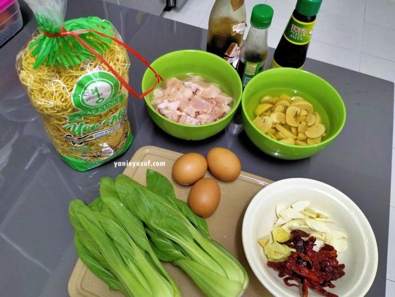 Resipi Sizzling Yee Mee Tanpa Guna Hot Plate Di Rumah
