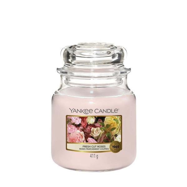 Fresh Cut Roses Medium Classic Jar