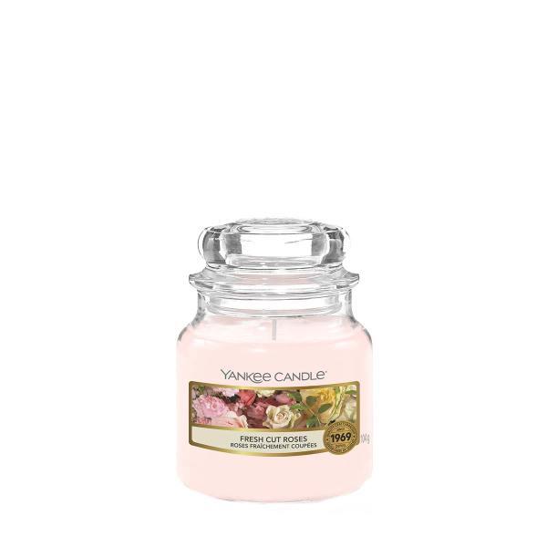 Fresh Cut Roses Small Classic Jar