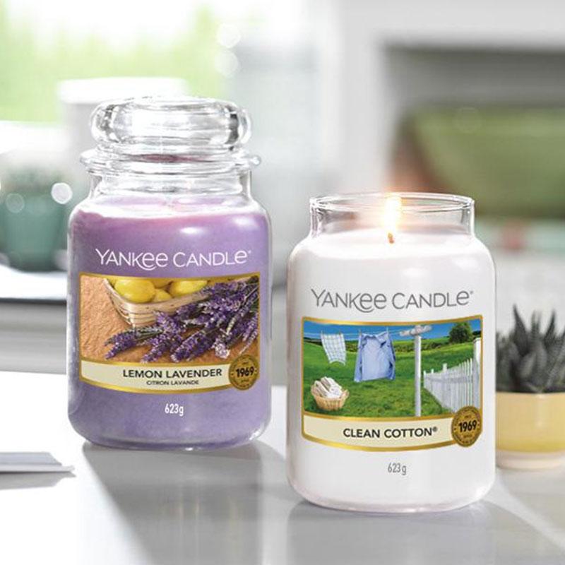 Lemon Lavender Display