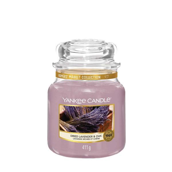Dried Lavender and Oak Medium Classic Jar