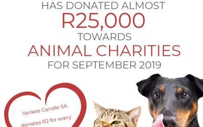 Charity Donation – September 2019