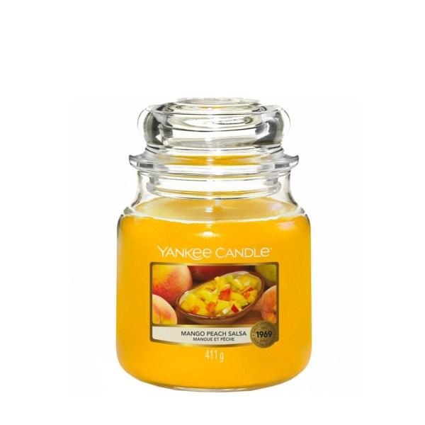 Mango Peach Salsa Medium Jar