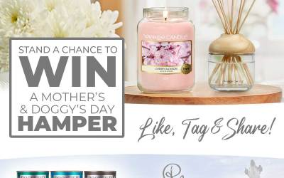 Stand a chance to WIN a Mother's & Doggy's Day Hamper