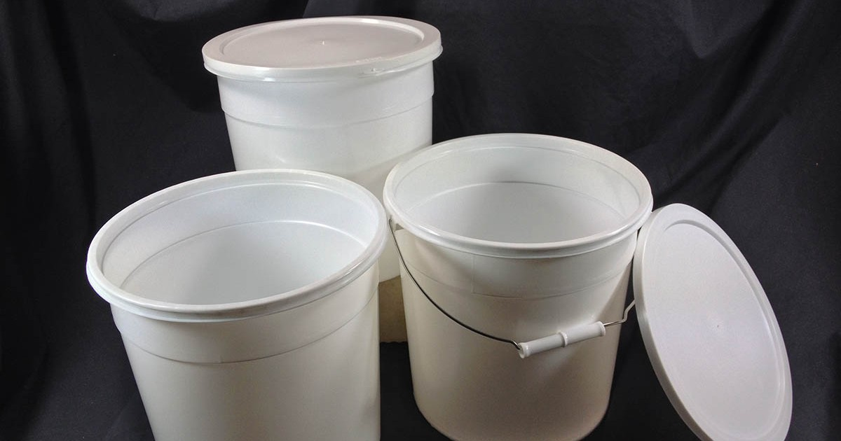 Plastic Bucket Containers