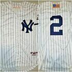 New York Yankees Derek Jeter Retro Pinstripe Mens Large Replica Baseball Jersey