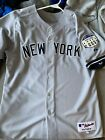 NY Yankees Alex Rodriguez Authentic Majestic Away Jersey #13, Size XL, 48