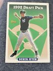 1993 Topps Derek Jeter 1992 Draft Pick Rookie Card RC #98 Yankees