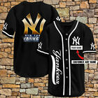 Personalized New York Yankees Legend Champions Custom Men Women Baseball Jersey
