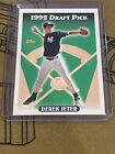 1993 Topps #98 Derek Jeter New York Yankees RC Rookie HOF Pack Fresh Mint Center