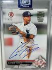 2020 Topps Archive Signature Series Gleyber Torres /7 Auto New York Yankees SSP