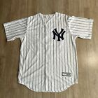 MAJESTIC NEW YORK YANKEES AARON JUDGE WHITE COOL BASE PLAYER JERSEY M