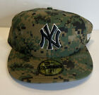 Military New York Yankees Digi Camo Hat Size 7 3/4 NEW