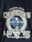 Vintage 2001 New York Yankees -American League Champions T-Shirt w/ World Series