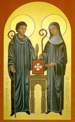 Yankton Benedictine Scholastica and Benedict