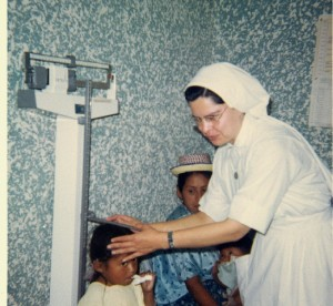 Sister Aurea Medina served as a nurse in Guatemala from 1966-1971