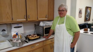 Sister 3 Virginia monastery chicken dinner Yankton Benedictines Sacred Heart Monastery sisters