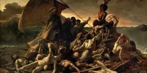 Radeau de la méduse de Théodore Géricault