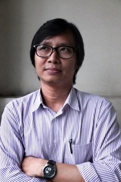 Kyaw Zwa Moe, ancien prisonnier politique birman et rédacteur en chef de The Irrawaddy. Publication dans Ijsberg Magazine.
