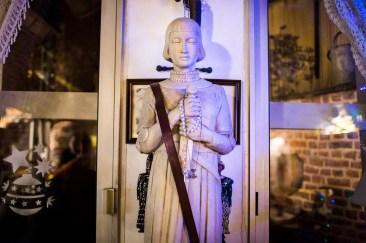 6 janvier 2017, Lille (59), FRANCE. Statue de Jeanne d'Arc au sein des locaux de Génération Identitaire à Lille. Elle est le symbole du combat civilisationnel et religieux contre les envahisseurs.