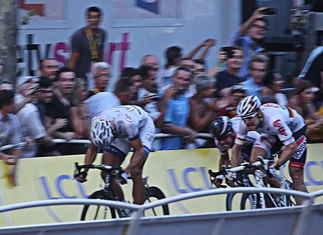 Arrivée Tour de France