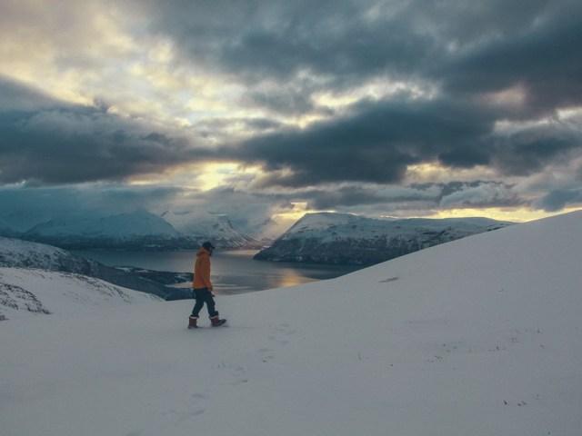ski-rando dans les Alpes Lyngen