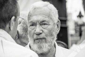 Sir Robin Knox-Johnston, a living legend of sailing who established this fabulous race