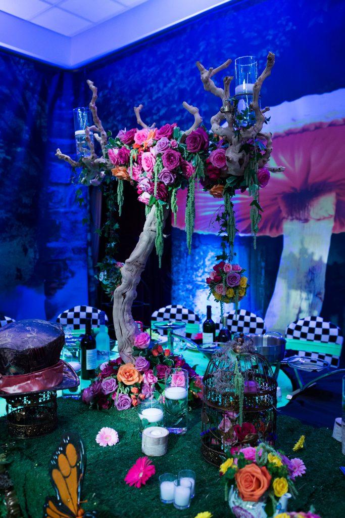 Magnificent Alice In Wonderland Versailles Birthday Party Yanni Design Studio