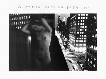 Duane Michals A Woman Dreaming in the City, 1968