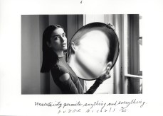 Duane Michals Dr. Heisenberg's Magic Mirror of Uncertainty, 1998 f