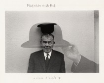 Duane Michals Magritte with Hat, 1965