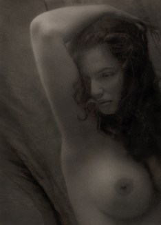 Nude with arm up