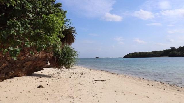 石垣島の浜辺