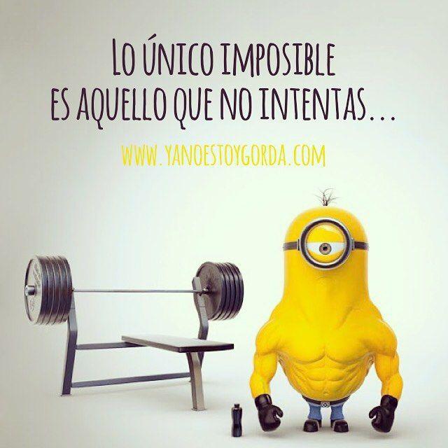 Lo único imposible es aquello que no intentas