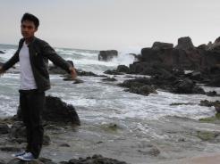 Di pantai bayah, foto asyik part3