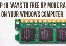 free up ram on windows computer