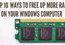 free up ram on windows computer
