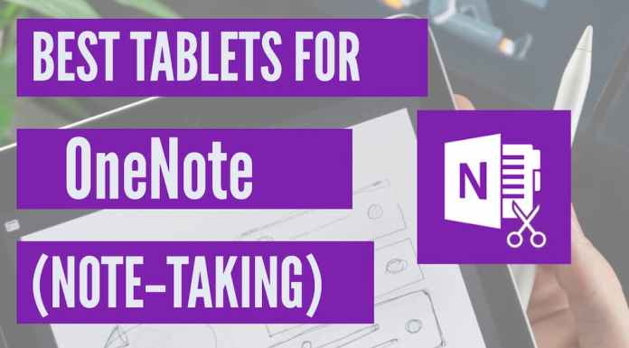 best tablets for onenote and note-taking
