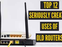 uses of old routers
