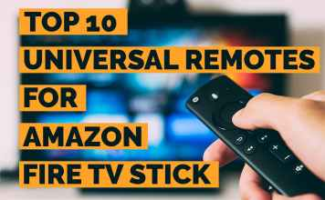 what universal remotes work with amazon fire tv | Top 10 best universal remotes for Amazon Fire TV or Fire TV Stick